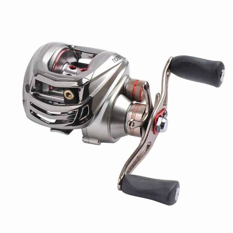 NOEBY Low Profile Baitcasting Fishing Reel
