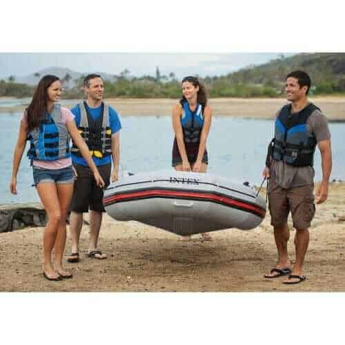 Inflatable Boat Set with Aluminum Oars