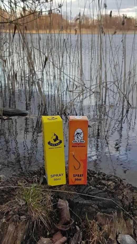 fish xxl spray activator
