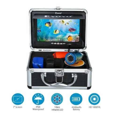 Eyoyo 7 TFT LCD Portable Underwater Fish Finder