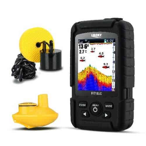 LUCKY Wired Wireless Portable Fish Finder