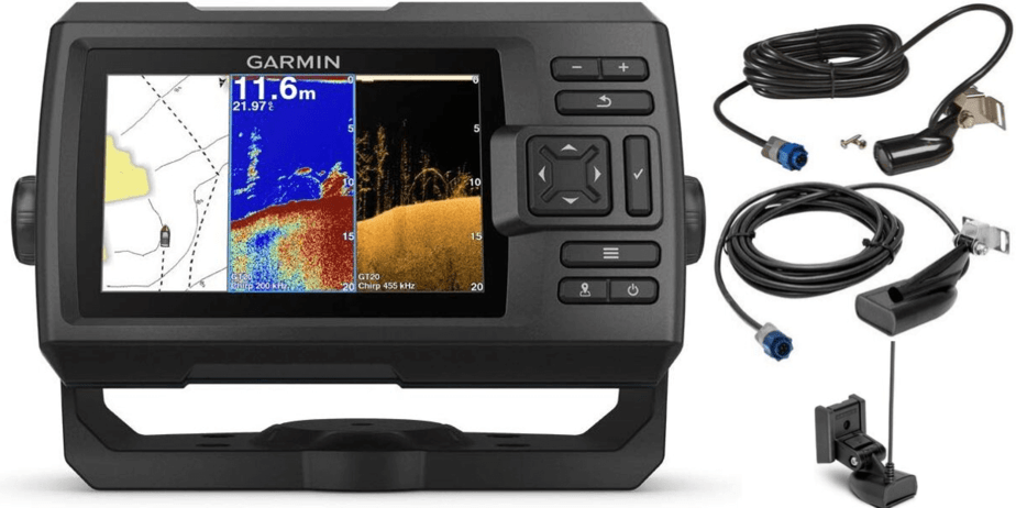 Do fish finders come with transducers?