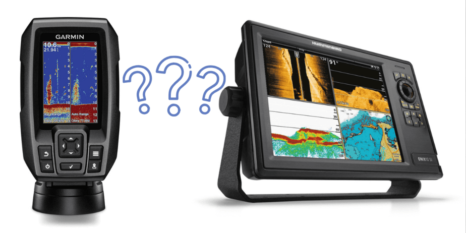 Difference between Fish Finder and a Depth Finder