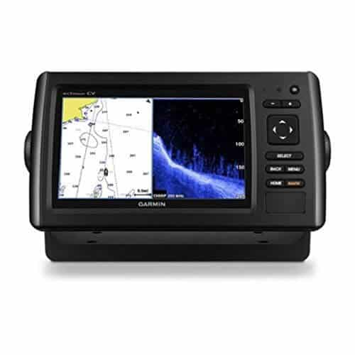 Garmin Echomap Chirp 74Cv with transducer