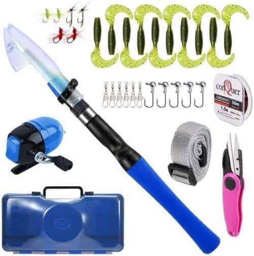 Lixada Fishing Rod and Reel Combos Full Kit