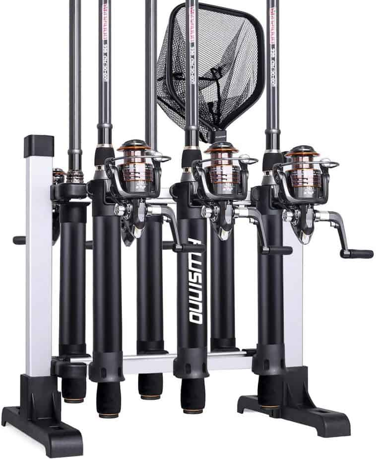 PLUSINNO Portable Fishing Rod Rack