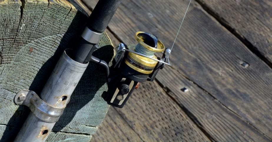 FIshing rod and reel for red drum