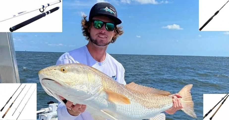 Fishing rods for red drum